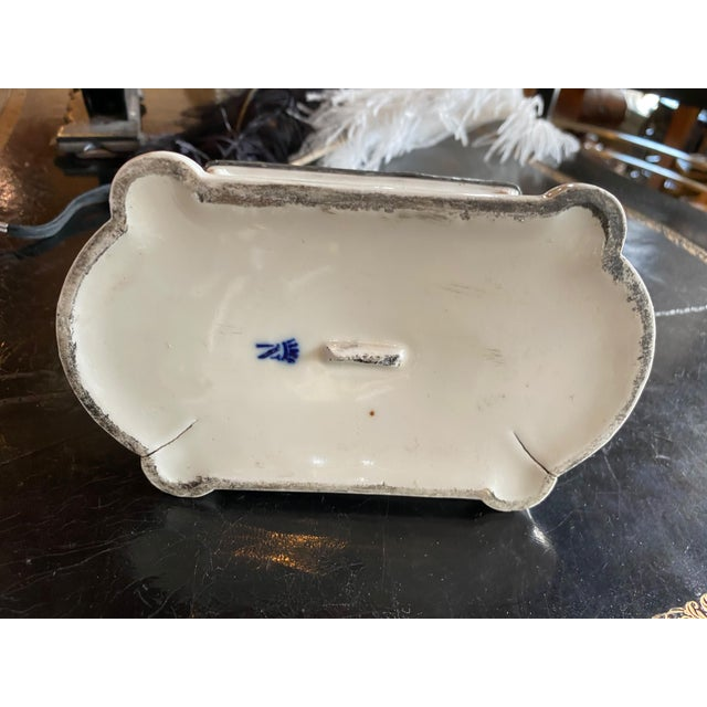 Antique White Antique 18th Century Inkwell For Sale - Image 8 of 12