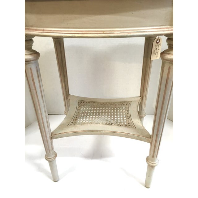 French Marble Top Side Table - Image 4 of 10