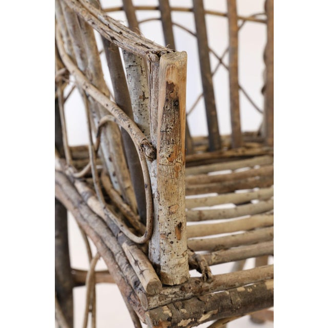 Antique French Twig Chair For Sale In Houston - Image 6 of 13