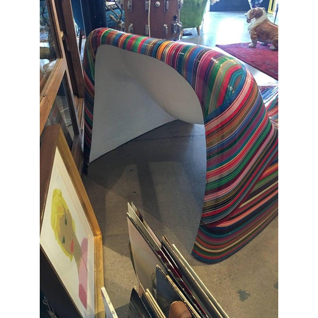 """Mauro Oliveira """"Hard Candy"""" Painted Chair For Sale - Image 4 of 5"""