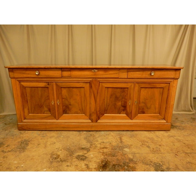 19th Century Walnut French Enfilade For Sale - Image 10 of 10