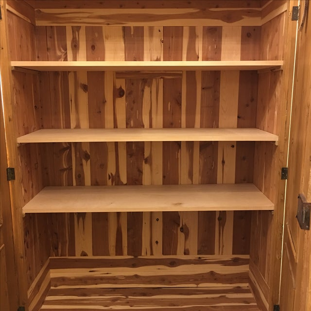 Cedar Lined Armoire - Image 5 of 10