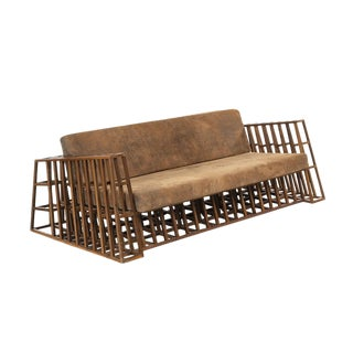 1990s Vintage Constructivist Sofa For Sale