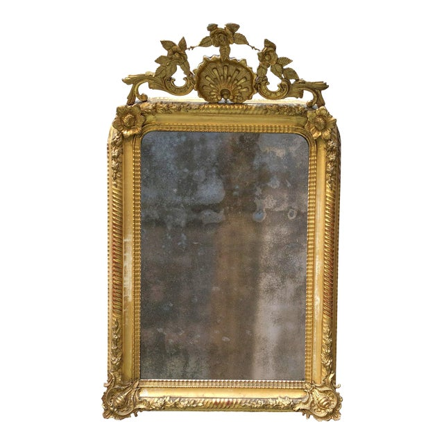 19th Century Mirror For Sale