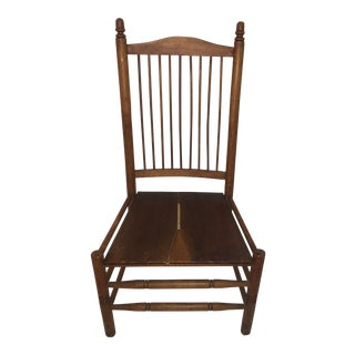 Vintage Upstate New York Rustic Country Chair For Sale
