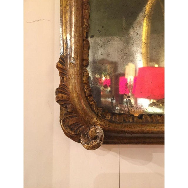 19th C. French Carved Gilt Mirror - Image 3 of 5