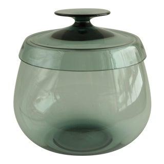 Wilhelm Wagenfeld Turmalin Glass Bonbonnière For Sale