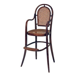 1900s Rare Child Thonet Bentwood Chair For Sale