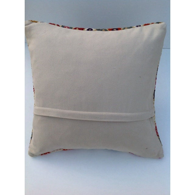 Turkish Kilim Pillow - Image 5 of 5