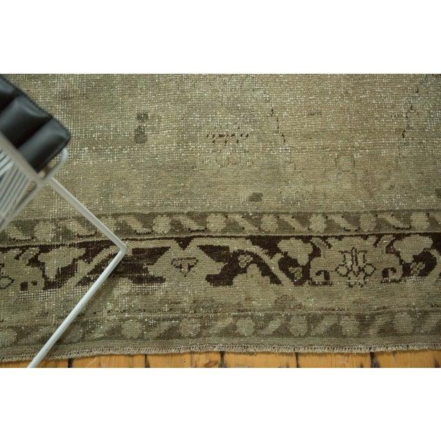 """Cottage Vintage Distressed Oushak Carpet - 6'10"""" x 10'2"""" For Sale - Image 3 of 10"""