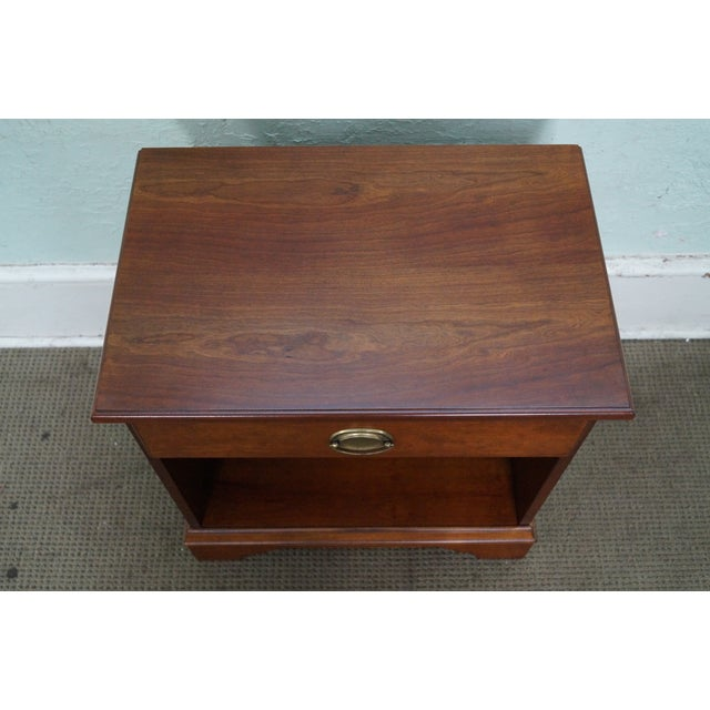 Eddie Bauer for Lane Traditional 1 Drawer Nightstand For Sale - Image 10 of 10