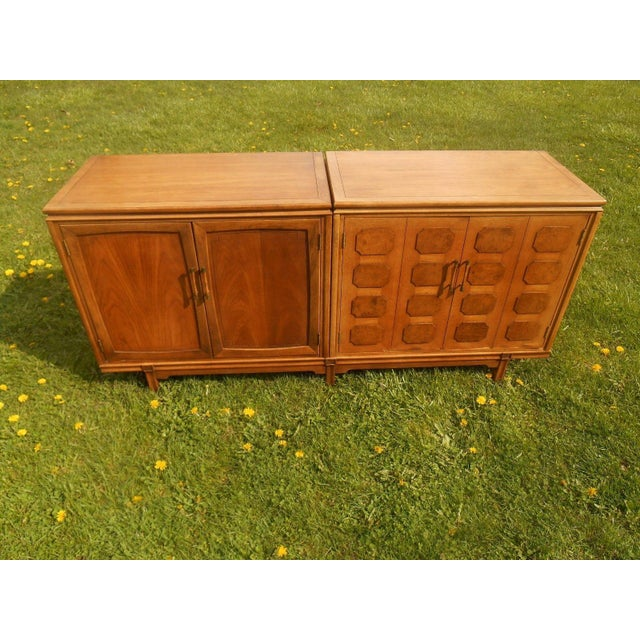 Thomasville Mid-Century Modern Floating Credenza - Image 2 of 7