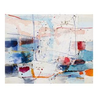 """Belgian Original Artwork, """"Between Land and Sea II"""" by Greet Helsen For Sale"""