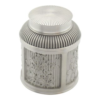 Royal Selangor Pewter Tea Caddy For Sale