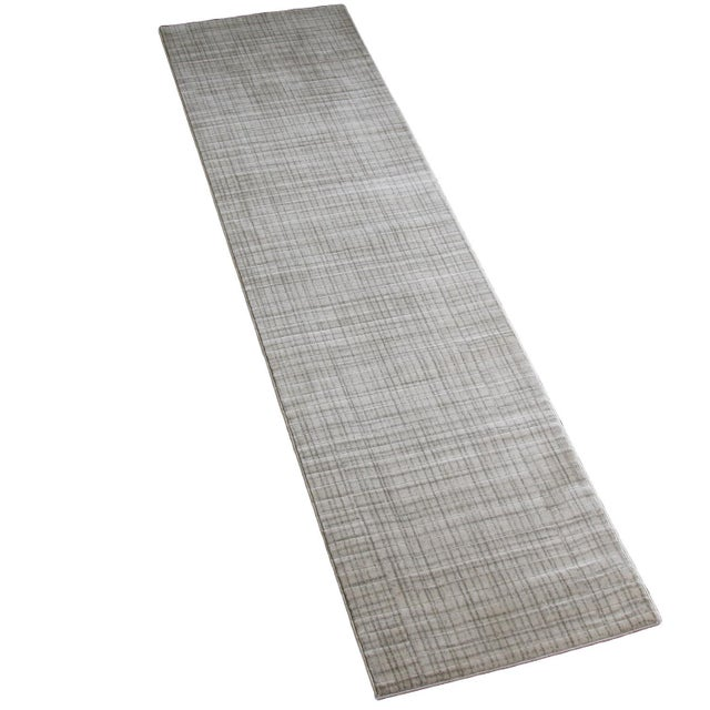 Gray Contemporary Rug - 3' x 10' - Image 4 of 4