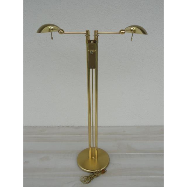 Holtkoetter Holtkoetter Brass Dual Swing Arm Floor Lamp For Sale - Image 4 of 13
