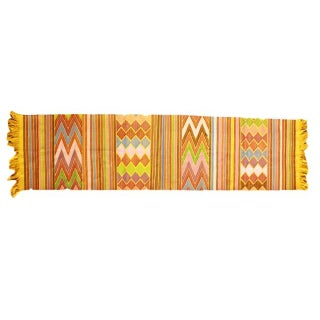 Chiapas Yellow Bed or Table Runner For Sale