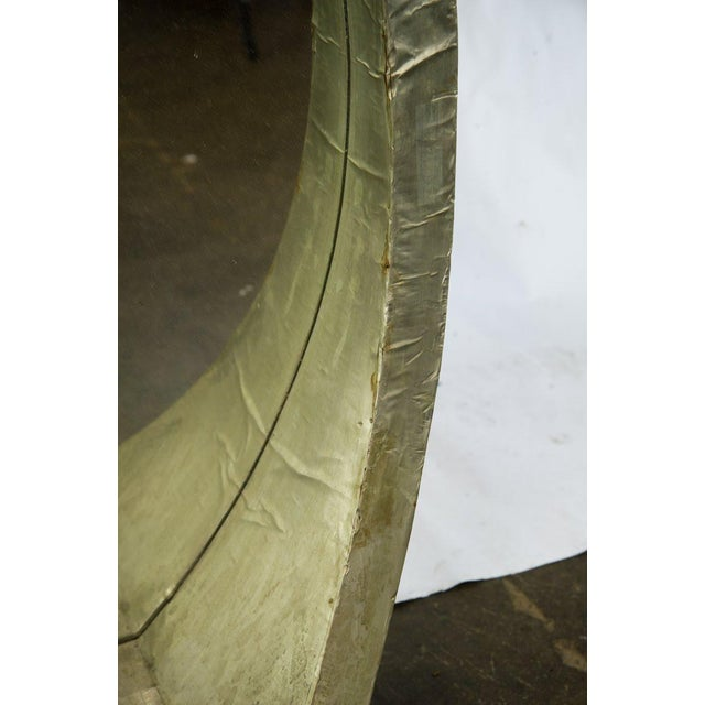 Mid-Century Modern Round Mantle Mirror For Sale In Atlanta - Image 6 of 9