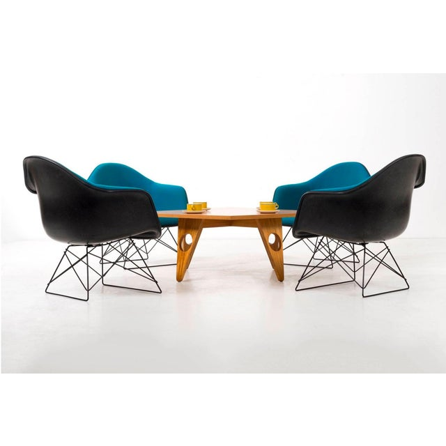 Fiberglass Set of Four Eames LAR Chairs For Sale - Image 7 of 9