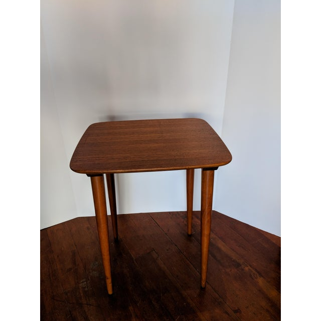 Vintage Mid-Century Nesting Tables - Set of 3 For Sale In San Francisco - Image 6 of 9