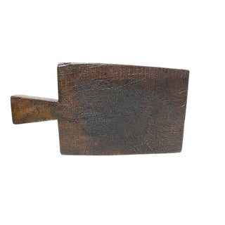 Antique French Rustic Cutting / Cheese Board For Sale