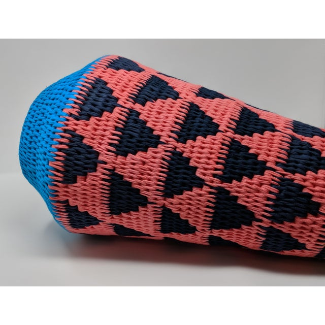 African Woven Vase - Made in Swaziland For Sale - Image 11 of 13