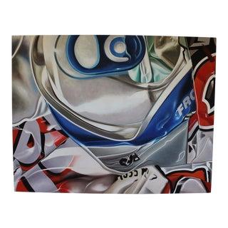 Contemporary Jean-Claude Goldberg Crash Cam No. 2 Original 2010 Acrylic Painting For Sale