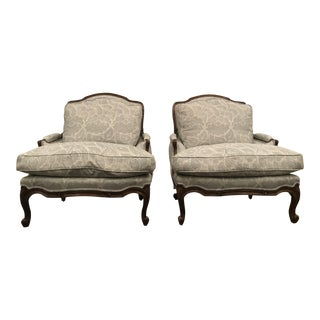 Charlemont Bergere Chairs by Ferrell Mittman - A Pair For Sale