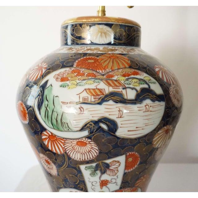 Samson Imari Lamps, Mallett London - a Pair For Sale - Image 12 of 13