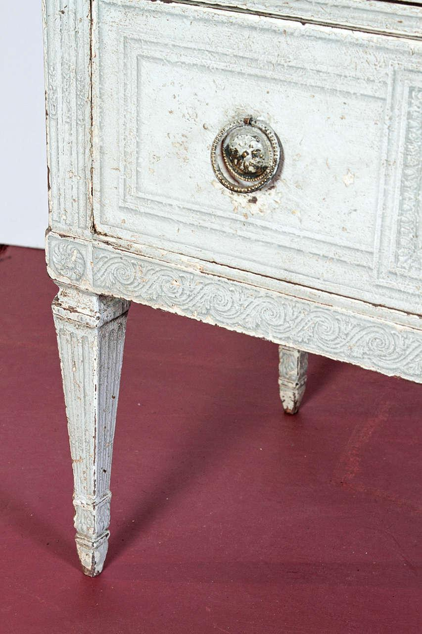 Th Century French Painted Chests Of Drawers Commode Image
