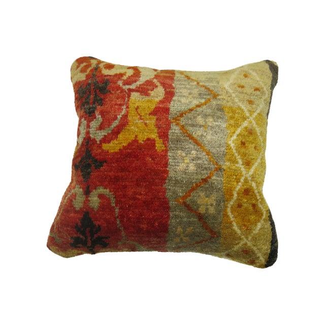 Antique Oushak Pillow For Sale
