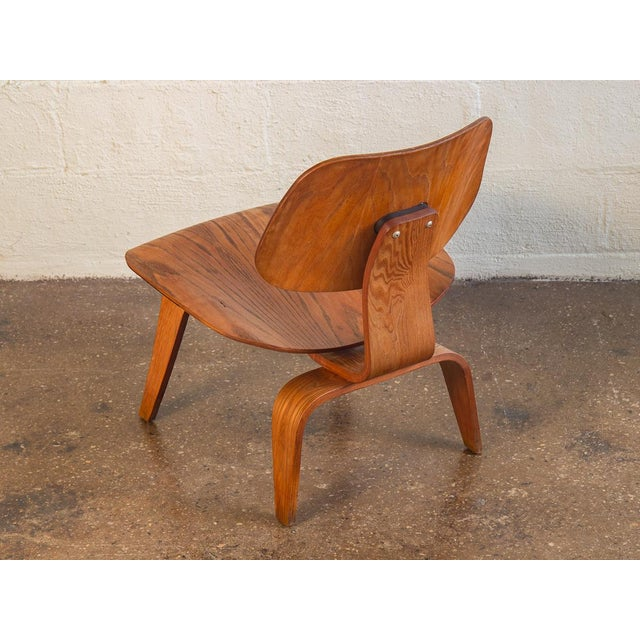 Herman Miller 1950s Eames Ash LCW for Herman Miller Chair For Sale - Image 4 of 12