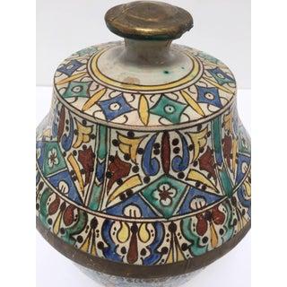 Moroccan Ceramic Glazed Storage Tureen Jar Preview