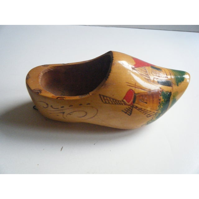 Vintage Hand-Painted Dutch Shoe Clog - Image 2 of 5