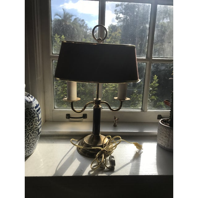 1940s Vintage Double Candle Bouillotte Lamp For Sale - Image 11 of 12