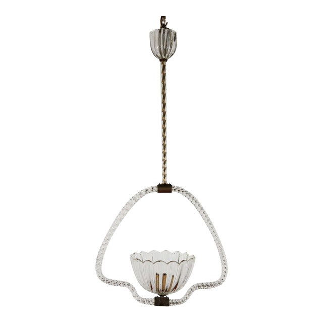 Murano Fixture by Barovier E Toso For Sale