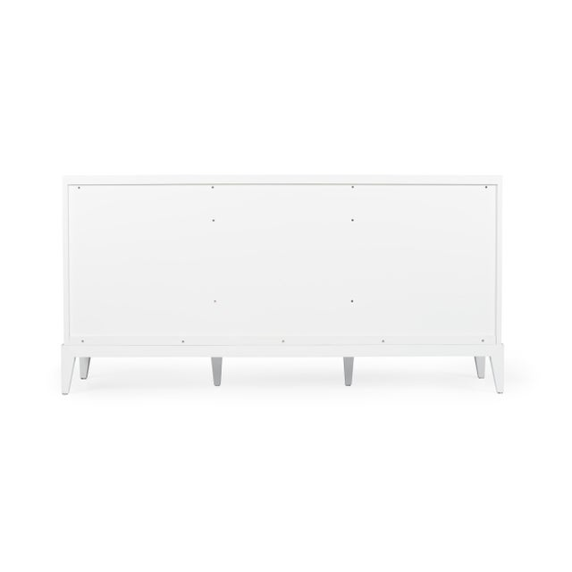 Casa Cosima Designers' Palette Casa Cosima Hayes Sideboard, Revere Pewter For Sale - Image 4 of 5