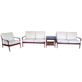 Living Room Set by Folke Ohlsson for Dux For Sale
