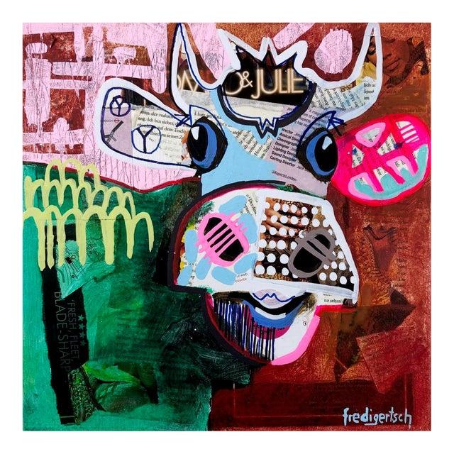 """Oh Julie"" Original Artwork by Fredi Gertsch For Sale"