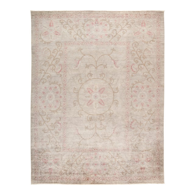 """Vibrance Hand Knotted Area Rug - 9' 1"""" X 11' 6"""" - Image 1 of 4"""