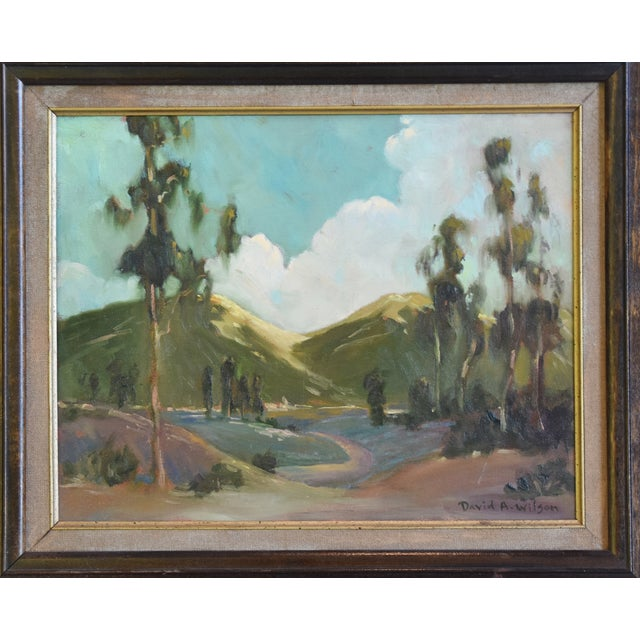 American David A. Wilson Plein Air California Landscape Oil Painting For Sale - Image 3 of 10