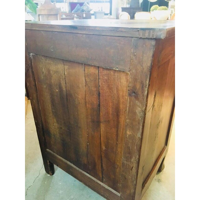 Little Antique French Buffet For Sale - Image 4 of 11