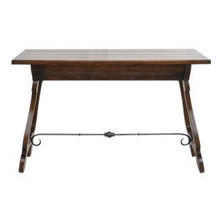 Classic Spanish Walnut Desk