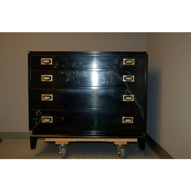 Hollywood Regency Renzo Rutili Vintage Chest by Johnson Brothers For Sale - Image 3 of 10