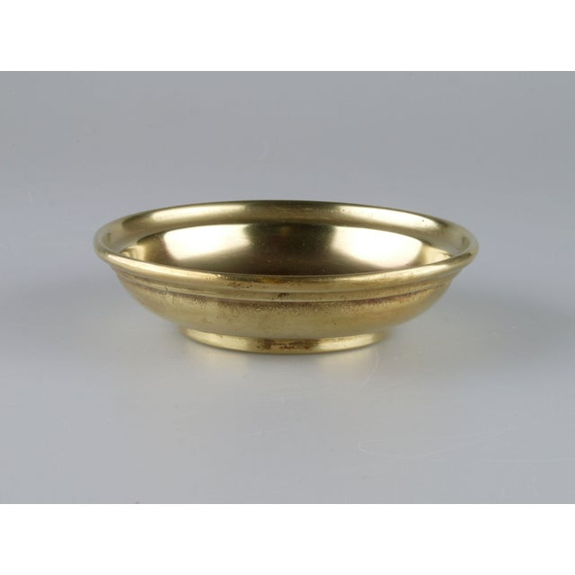 Solid brass catchall by Celine, Paris. Made in Italy. Light wear.