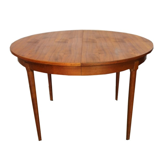 Rosengaarden Teak Dining Table with Leaf - Image 3 of 7