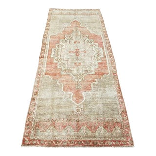 Oushak Handmade Vintage Area Rug For Sale