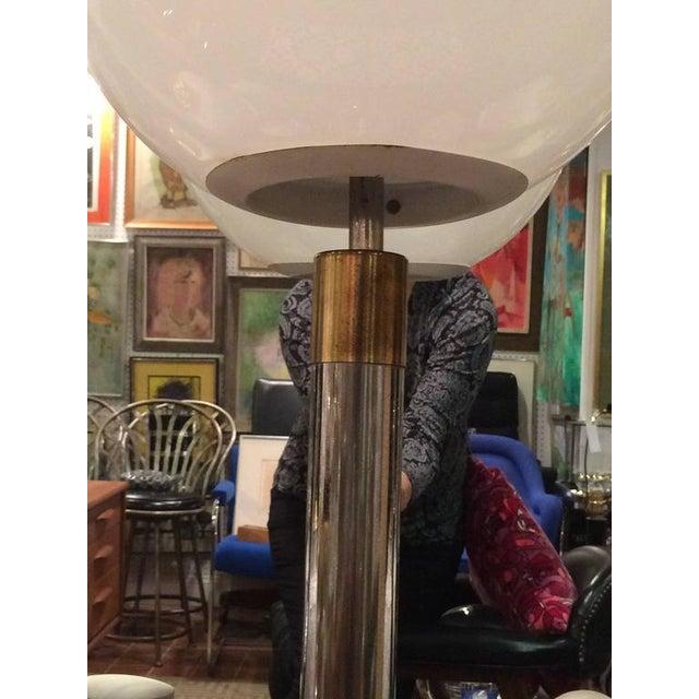 Metal Large Robert Sonneman Style Lollipop Table Lamp For Sale - Image 7 of 12