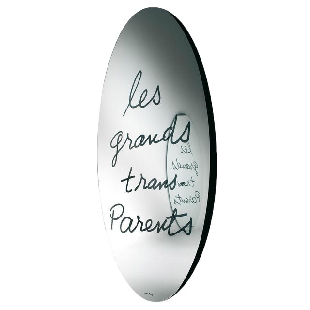 """Late 20th Century """"Les Grands Trans-Parents"""" Mirror by Man Ray 