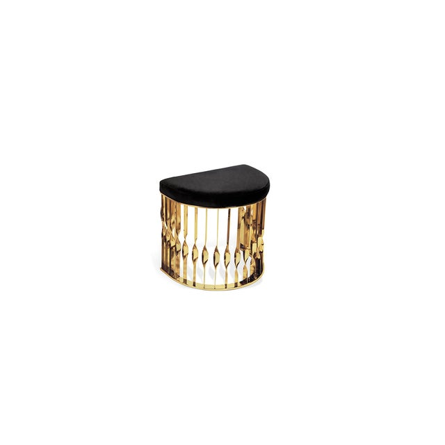 Mandy Stool From Covet Paris For Sale - Image 6 of 13